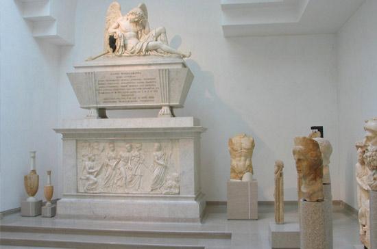 Tempietto neoclassico - Monumento a Winckelmann