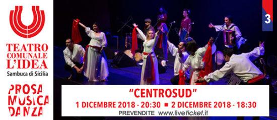 Centrosud al Teatro L'Idea a Sambuca di Sicilia