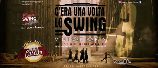 C'era una volta lo swing #3 - Vintage Party all'Officine Cantelmo a Lecce