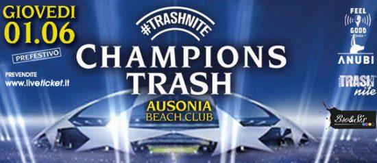 Champions Trash all'Ausonia Beach Club di Trieste