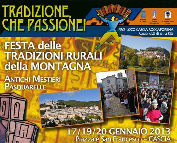 Tradizione, che Passione! Festa delle tradizioni rurali della montagna in Valnerina