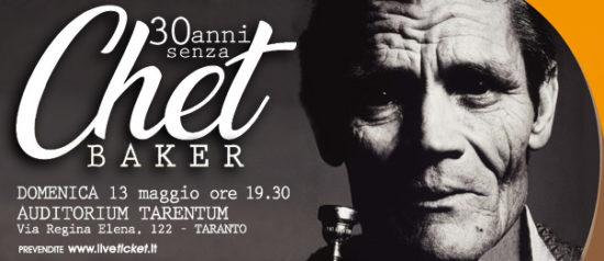 "Chet Baker ""Come se avessi le ali. Le memorie perdute"" all'Auditorium Tarentum di Taranto"