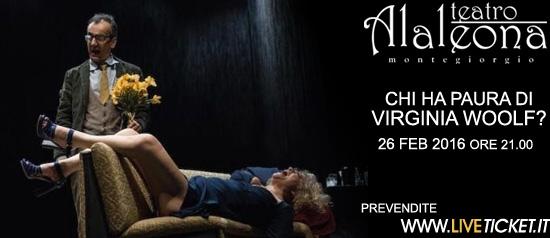 """Chi ha paura di Virginia Woolf"" al Teatro Alaleona di Montegiorgio"