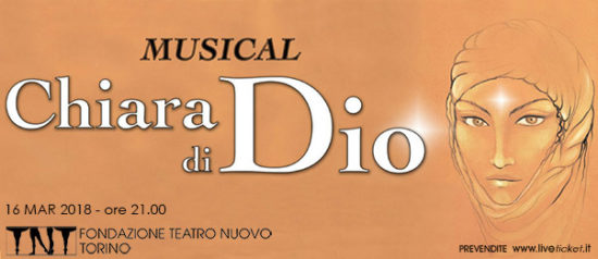 Chiara di Dio - Musical al Teatro Nuovo di Torino