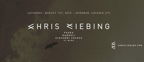Chris Liebing- Afrobar a Catania