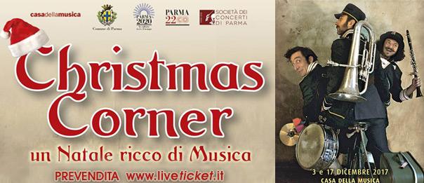 Christmas Corner alla Casa della Musica a Parma