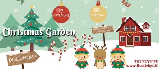 Christmas Garden all'Azienda Agricola Cannavera a Dolianova