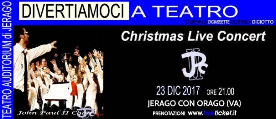 Concerto di Natale Jpc all'Auditorium Jerago a Jerago con Orago