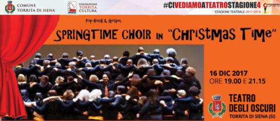 "Springtime Choir in ""Christmas time"" al Teatro degli Oscuri di Torrita di Siena"