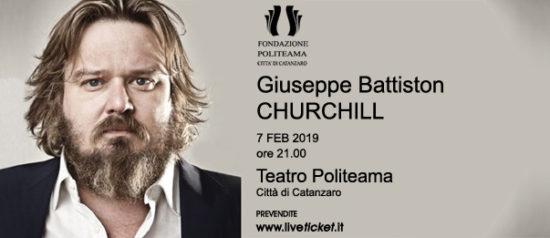 """Giuseppe Battiston """"Churchill"""" al Teatro Politeama di Catanzaro"""