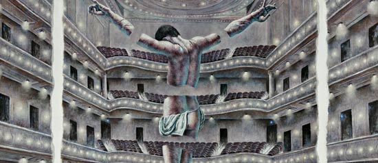 "Ricardo Cinalli ""La metafora del perturbante"" al Salone degli Incanti a Trieste"