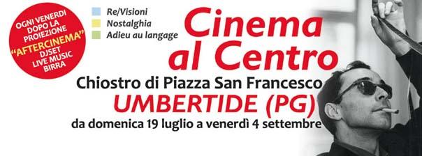 Cinema al Centro al Chiostro di Piazza San Francesco di Umbertide