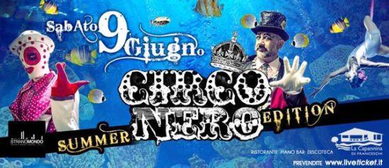 Circo Nero summer edition a La Capannina di Franceschi di Forte dei Marmi