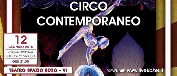 Clownfunding e il Circo vizioso al Teatro Spazio Bixio di Vicenza
