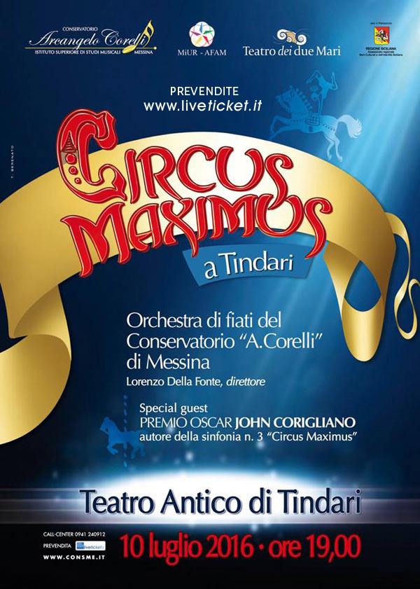 """""""Glorie delizie e drammi del circo"""" al Teatro Antico di Tindari"""