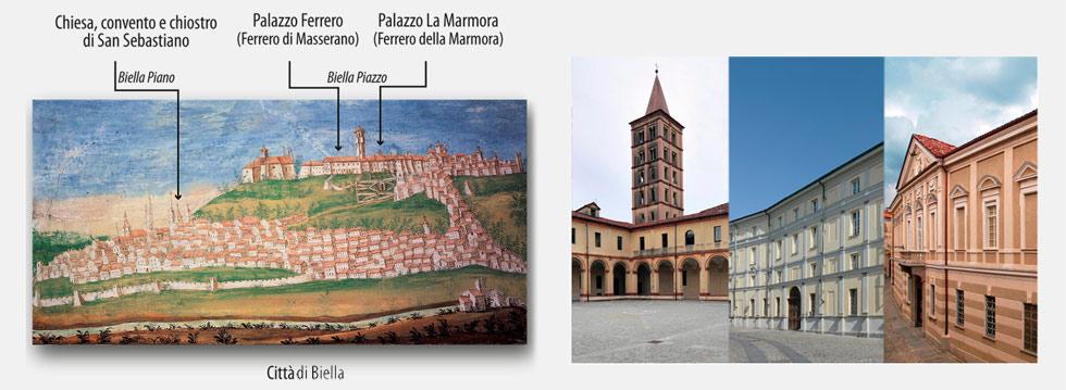 Palazzo Ferrero – Palazzo La Marmora - Museo del Territorio Biellese