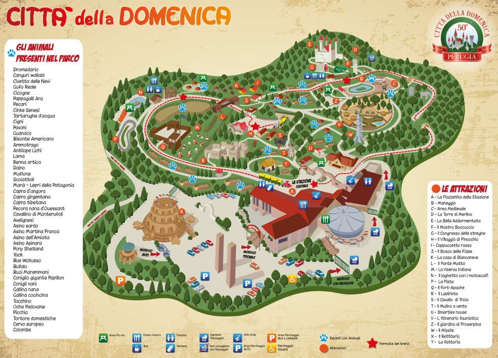 CITTÀ DELLA DOMENICA a Perugia