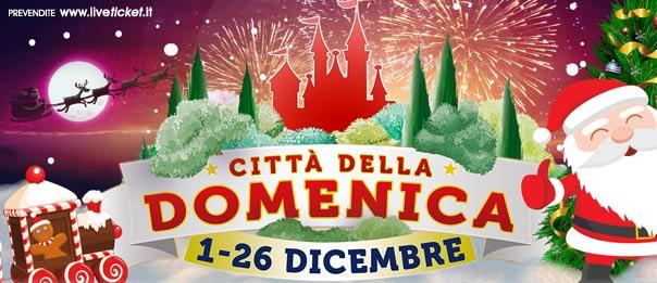 Il Parco di Natale alla Città della Domenica a Perugia