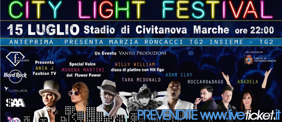 City Light Festival allo Stadio di Civitanova Marche