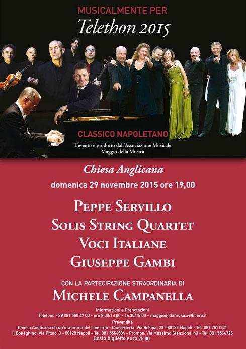 Classico Napoletano concerto alla Chiesa Anglicana di Napoli