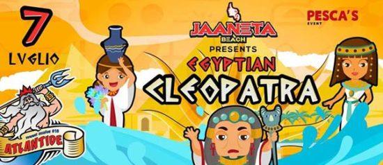 Egyptian - Cleopatra al Jaaneta Beach a Giardini Naxos
