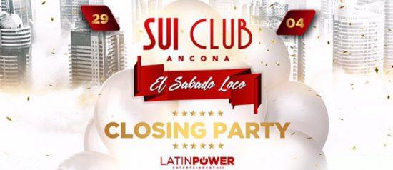 El sabado loco - Closing party al Sui Club di Ancona