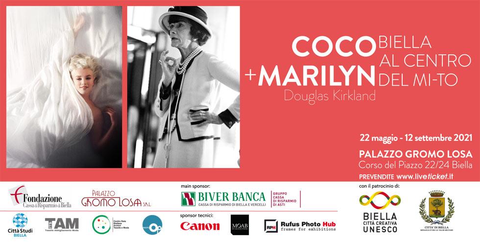 COCO + MARILYN - Douglas Kirkland - Biella al centro del MI-TO a Biella