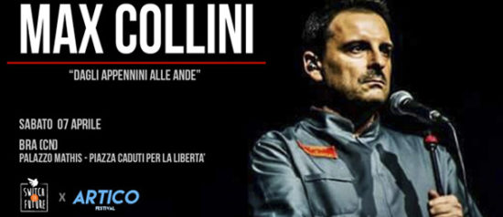 """Max Collini in """"Dagli Appennini alle Ande"""" al Palazzo Mathis a Bra"""
