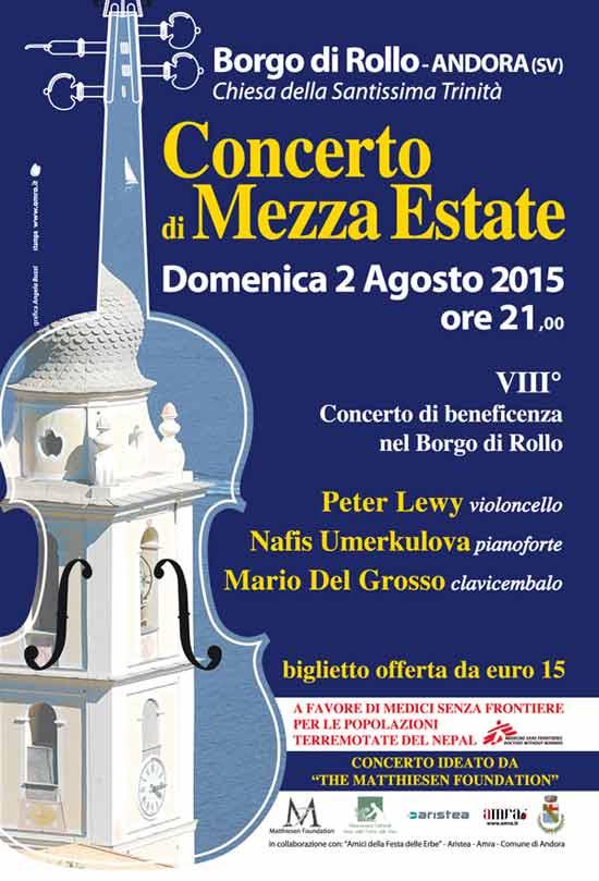 Concerto di Mezza Estate a Borgo di Rollo
