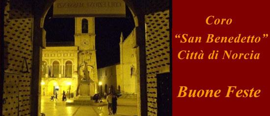 """Concerto di Natale del Coro """"San Benedetto"""" Città di Norcia"""