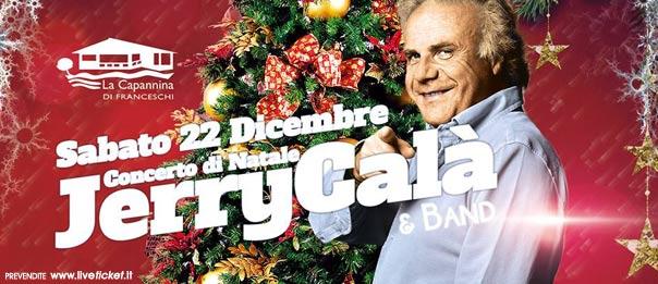 """Jerry Calà """"Il Concerto di Natale 2018"""" a La Capannina di Franceschi di Forte dei Marmi"""