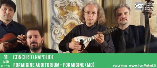 Concerto Napolide all'Auditorium Spira Mirabilis di Formigine