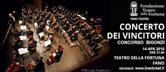 Concerto dei vincitori - Concorso Bigonzi al Teatro della Fortuna a Fano