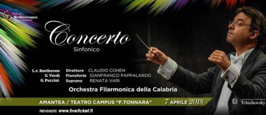 "Concerto Sinfonico al Campus Temesa ""F. Tonnara"" ad Amantea"