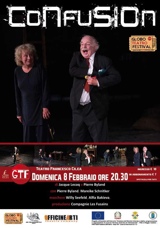 Confusion al Globo Teatro Festival a Reggio Calabria