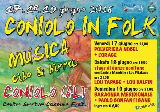Coniolo in Folk al Centro Sportivo Cascine Frati di Coniolo