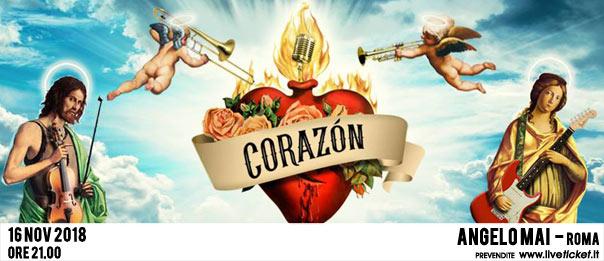 Corazon all'Angelo Mai di Roma