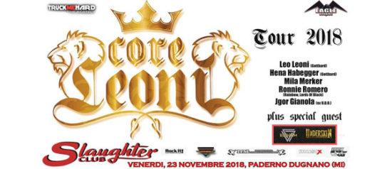 CoreLeoni al Slaughter Club a Milano