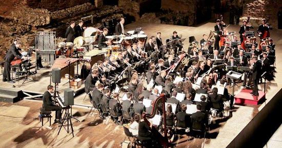 Orchestra di fiati del Conservatorio Aracangelo Corelli di Messima