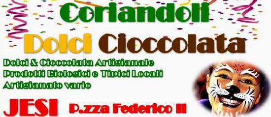 """Mostra Mercato """"Coriandoli dolci cioccolata"""" a Jesi"""