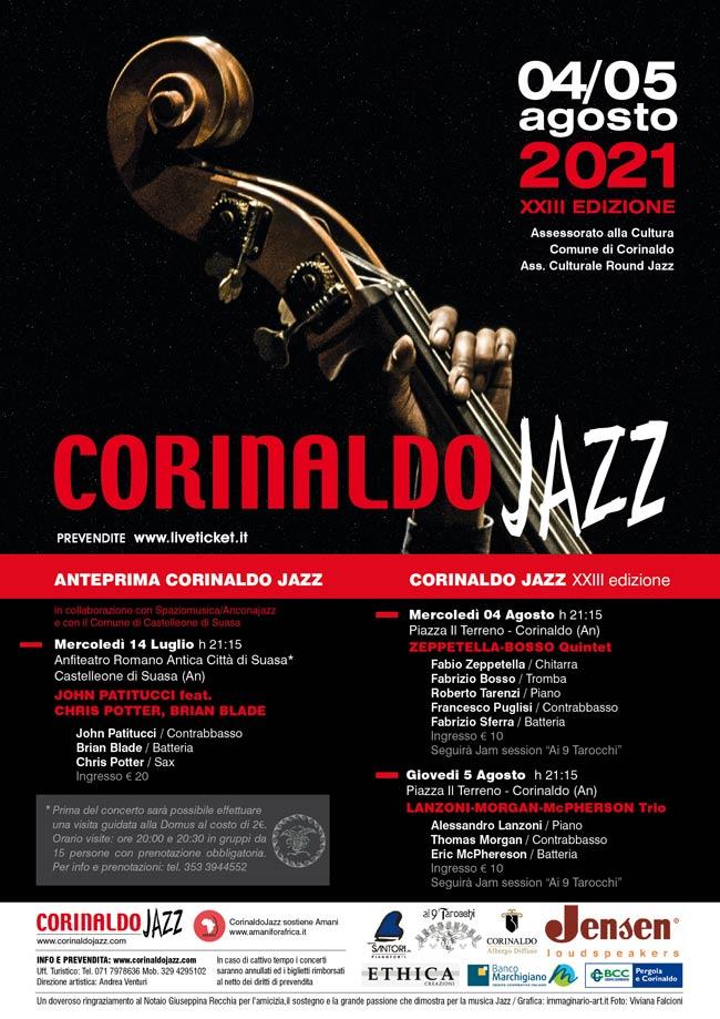 Corinlado Jazz a Piazza Il terreno nel Comune di Corinaldo