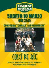 Coscì pe rie al Teatro Don Bosco di Varazze