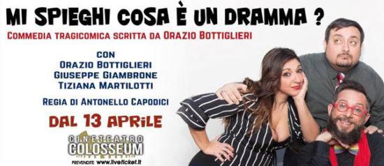 Mi spieghi cosa è un dramma? al Cineteatro Colosseum a Palermo