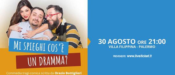 Mi spieghi cos'è un dramma? a Teatro Arena Villa Filippina a Palermo
