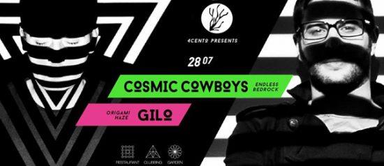 Cosmic Cowboys al Ristorante 4cento di Milano