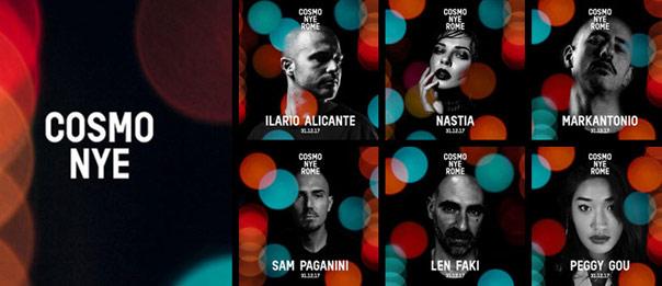 Cosmo Festival 2018 - Capodanno allo Spazio 900 a Roma
