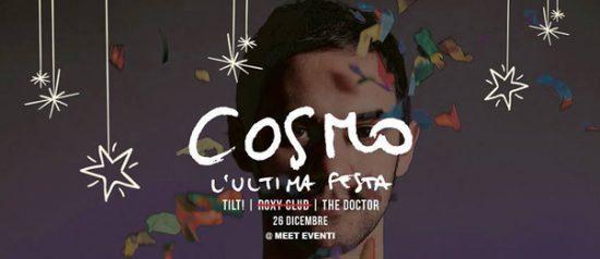 Cosmo - l'ultima festa al Meet Eventi di Atripalda