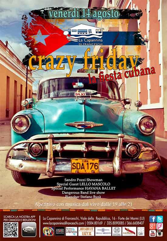 La fiesta cubana alla Capannina di Forte dei Marmi