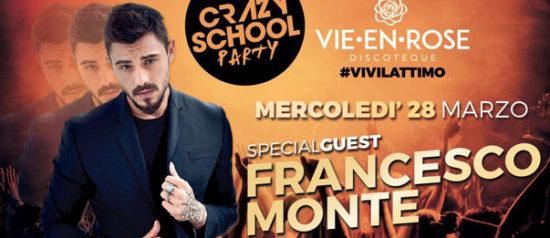 Crazy School Party + Francesco Monte a La Vie en Rose a Imola