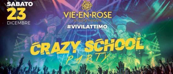 Crazy school party a La Vie en Rose a Imola